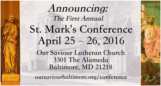 st mark conference flier